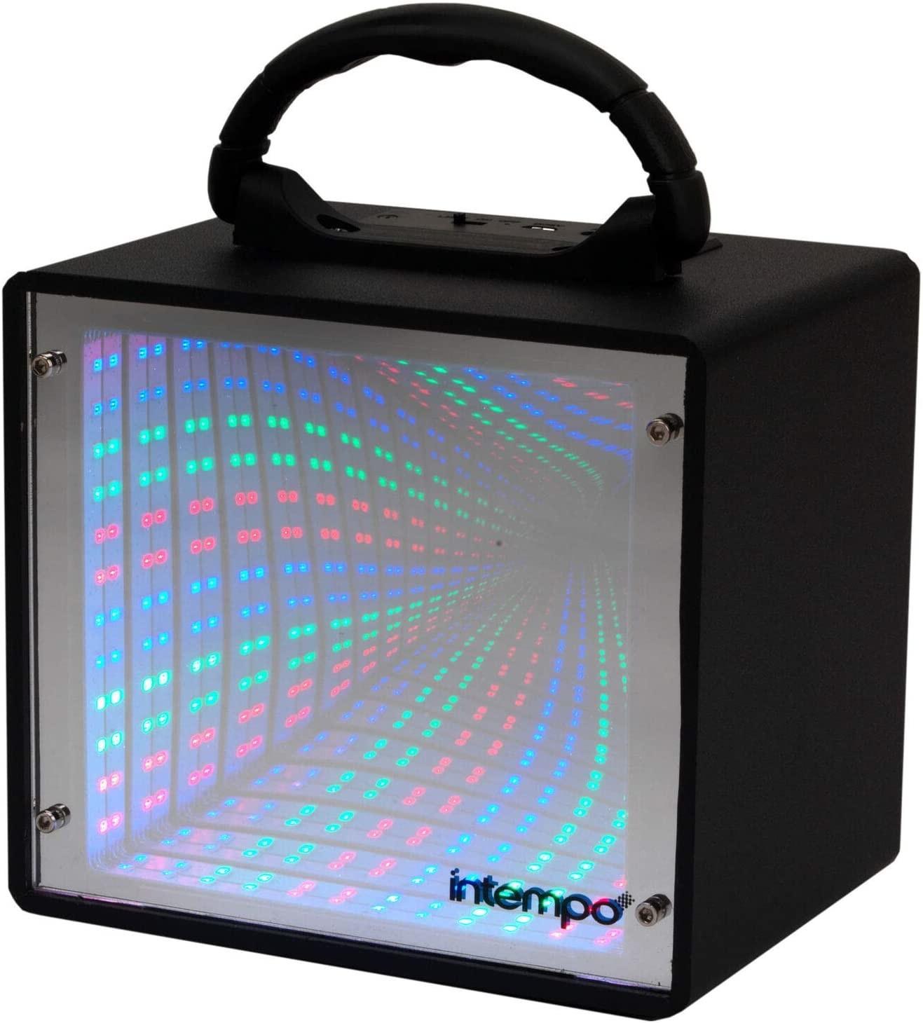 Image of Intempo Infinity Light LED Tunnel Speaker