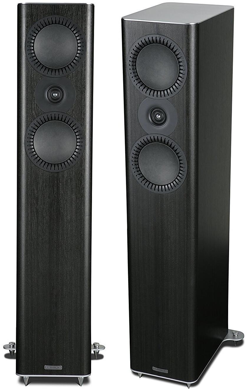 Image of Mission QX-3 Floorstanding Speakers Black Wood