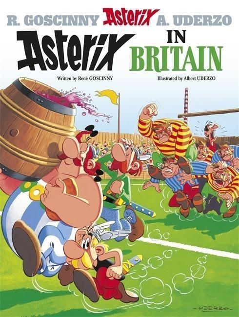 Image of Asterix in Britain: Album 8