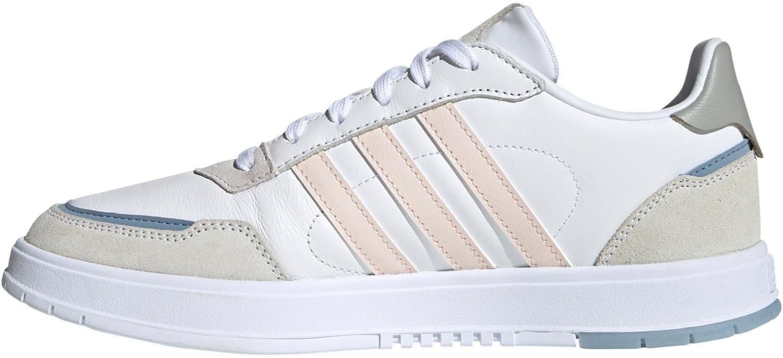 Image of Adidas Courtmaster Sneaker white/grey/pink/pink (FW2897)