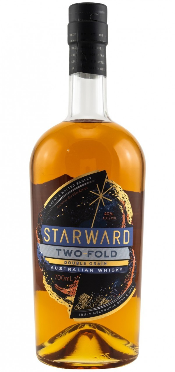 Starward Two-Fold Australian Double Grain Whisky 40% 0,7l
