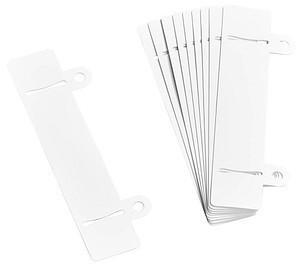VELOFLEX Heftstreifen weiß 10 Stück (2906010)