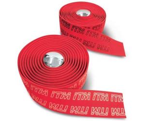 ITM Handlebar Tape Eva Tape 3d One Size Red / Logo White