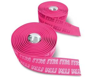 ITM Handlebar Tape Eva Tape 3d One Size Pink / Logo White