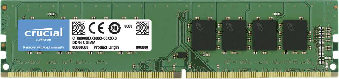 Image of Crucial 16GB DDR4-2666 CL19 (CT16G4DFRA266)