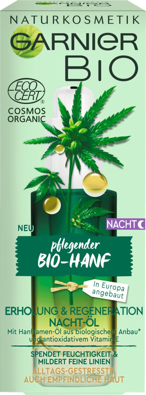 Garnier Bio-Hanf Nacht-Öl (30ml)