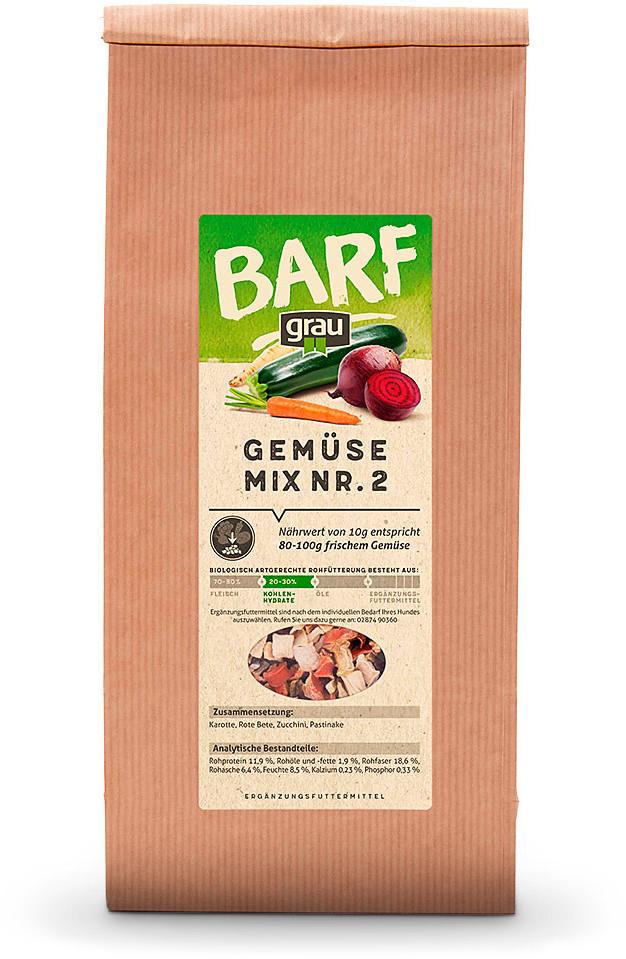 Grau BARF Mixer Gemüsemix 500g