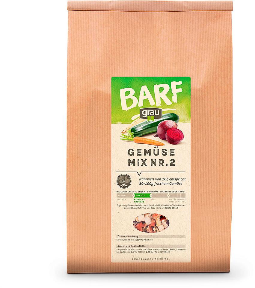 Grau BARF Mixer Gemüsemix 1,2kg