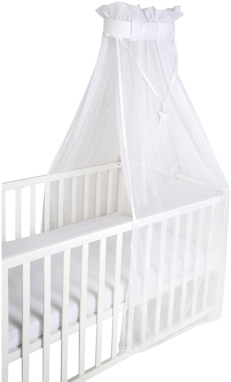 Roba safe asleep® Babybett Himmel Air, Betthimmel, Mesh-Himmel für Babybett white