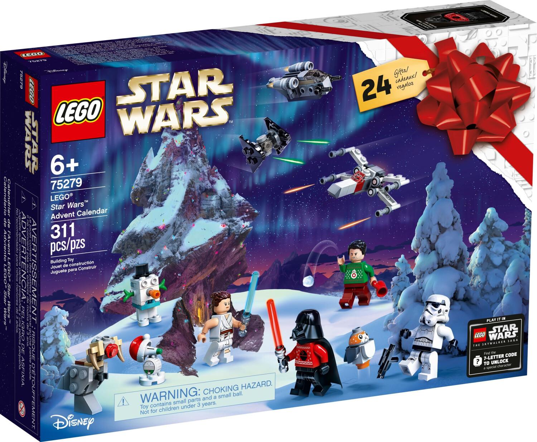 LEGO Calendrier de l'Avent Star Wars 2020 (75279)