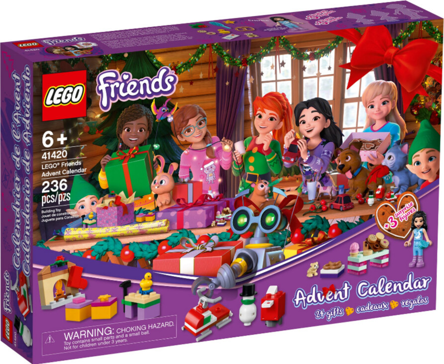 LEGO Calendrier de l'Avent Friends 2020 (41420)