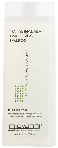 Giovanni Tea Tree Triple Treat Shampoo (250 ml)