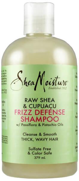 Shea Moisture Raw Shea & Cupuacu Frizz Defense Shampoo (384 ml)