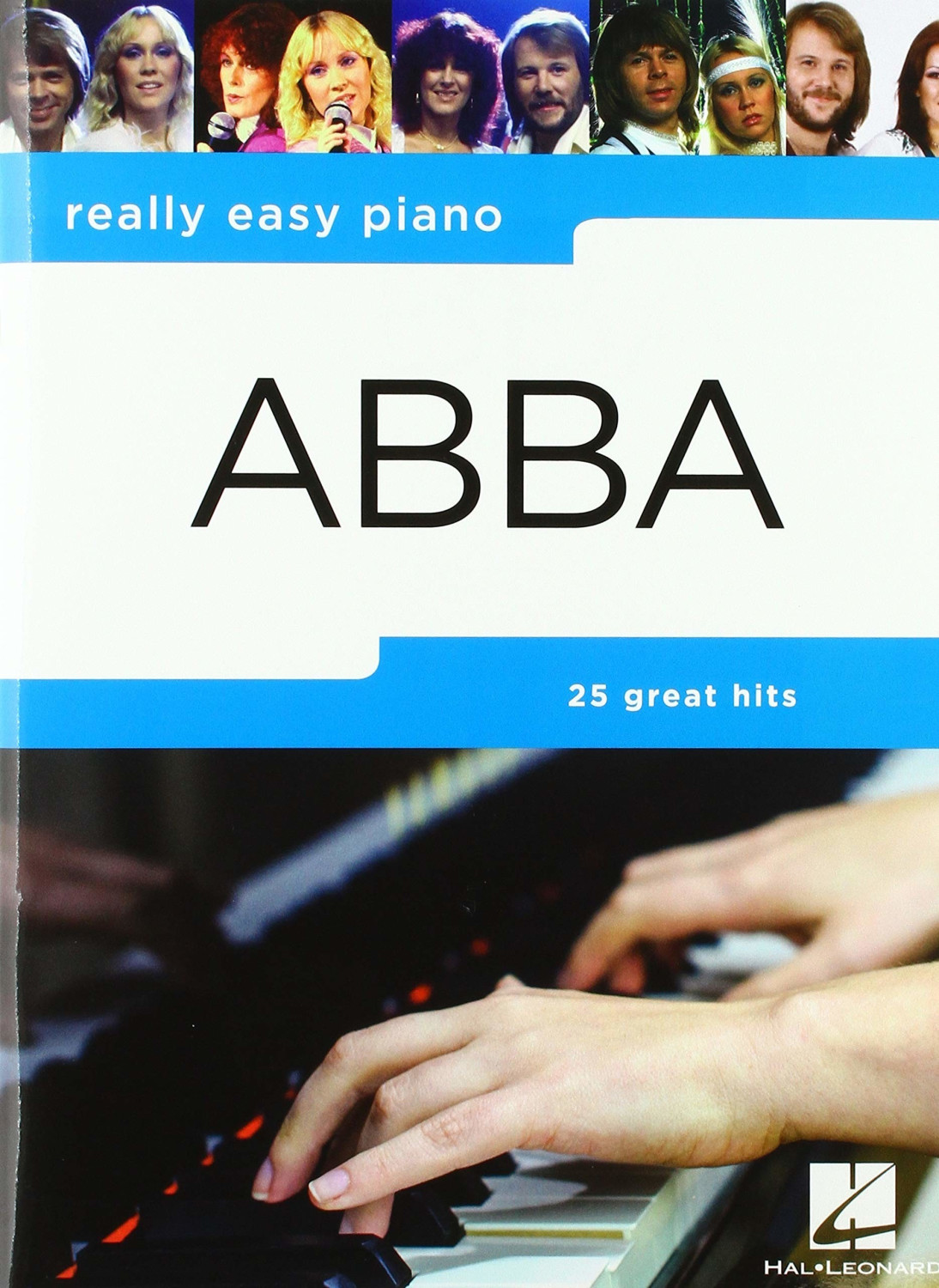 Image of Music Sales Really Easy Piano Abba Pf