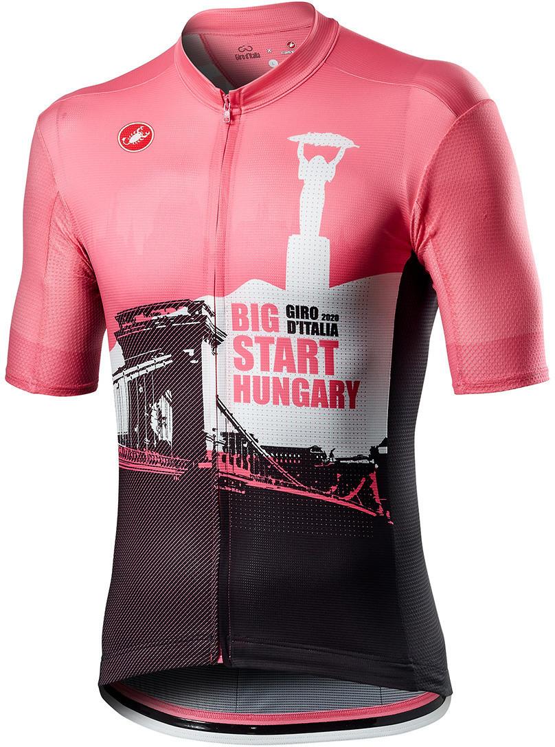 Castelli Giro D'Italia Hungary Big Start Trikot rosa