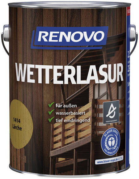 Renovo Wetterlasur 2,5 l lärche