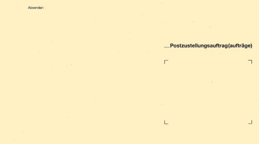 RNK Zustellungsumschlag DIN B5 ohne Fenster gelb (2048/100)