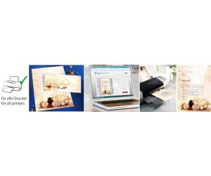 sigel Weihnachts-Umschlag Zimtsterne DIN lang (DU221)