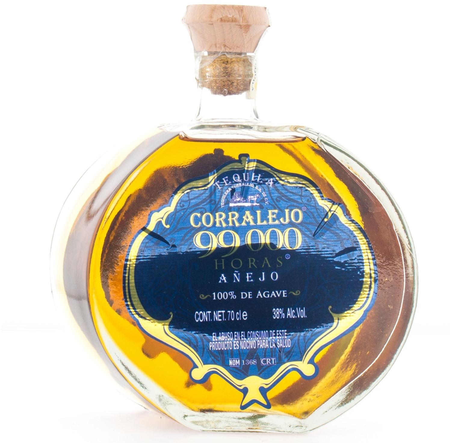 Corralejo Tequila 99.000 Horas Anejo 38% 0,7l