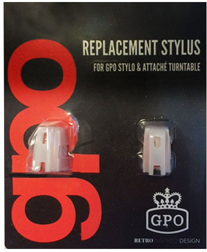 Image of GPO Attache Stylus 2 Pack for GPO Attache & Stylo Turntables