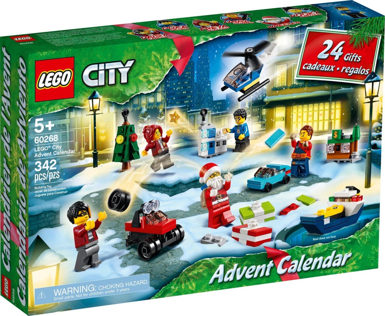 LEGO City Calendrier de l'Avent 2020 (60268)