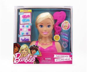 Barbie Fab Friends Frisierkopf