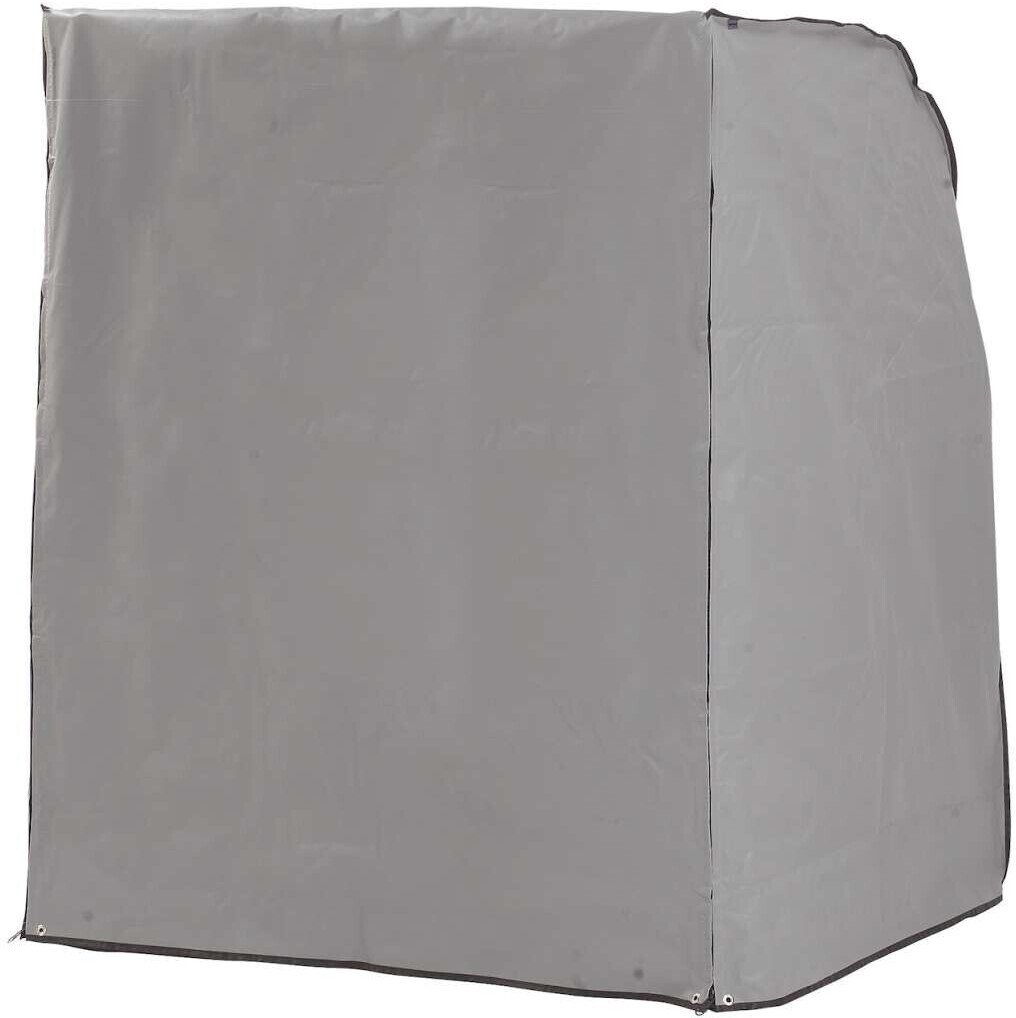 SunnySmart Rustikal Schutzhülle für Strandkorb Rustikal grau (70090033)