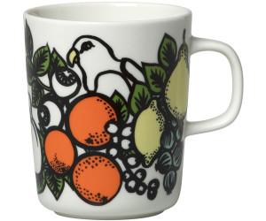 Marimekko Pala Taivasta Tasse (25 cl) weiß-orange-gelb