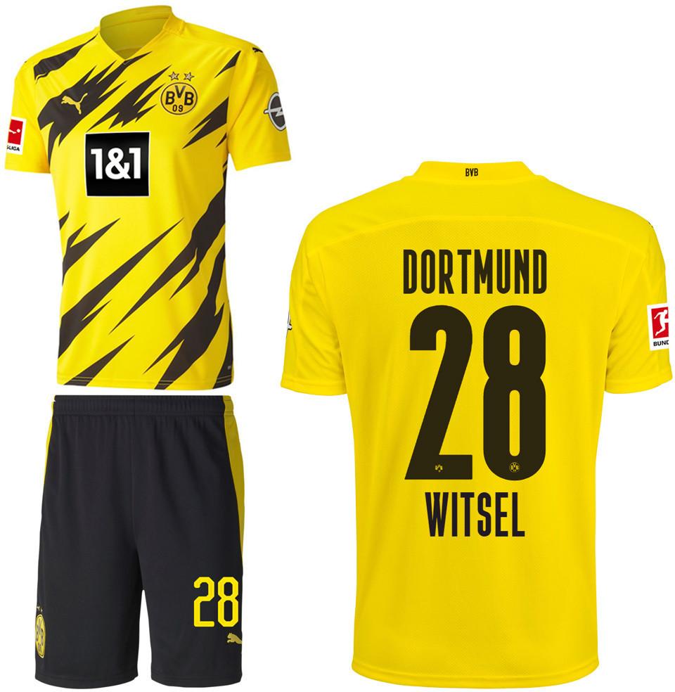 Puma Borussia Dortmund 2021 Vereinskit + Witsel 28