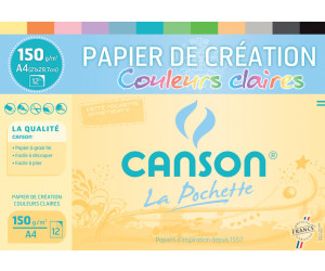 Canson Tonpapier in Sammelmappe DIN A4 (C200002760)