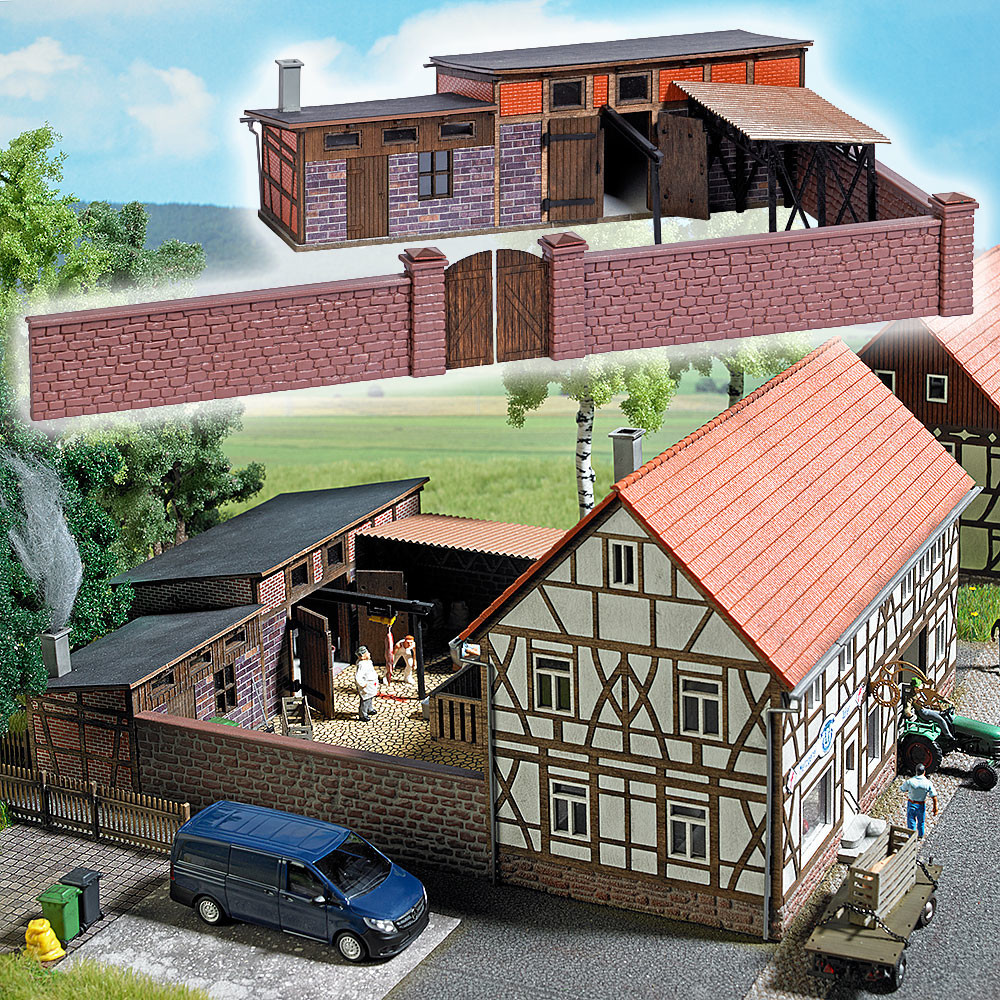 """Busch Hinterhofgebäude """"Schlachterei"""" (1531)"""