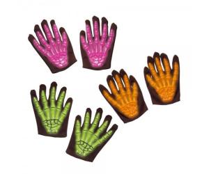 Widmann 3D Skelett Kinder-Handschuhe