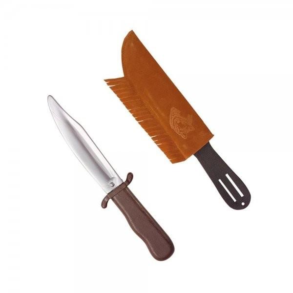 Widmann Indianer-Spielzeugmesser mit Hülle 28 cm