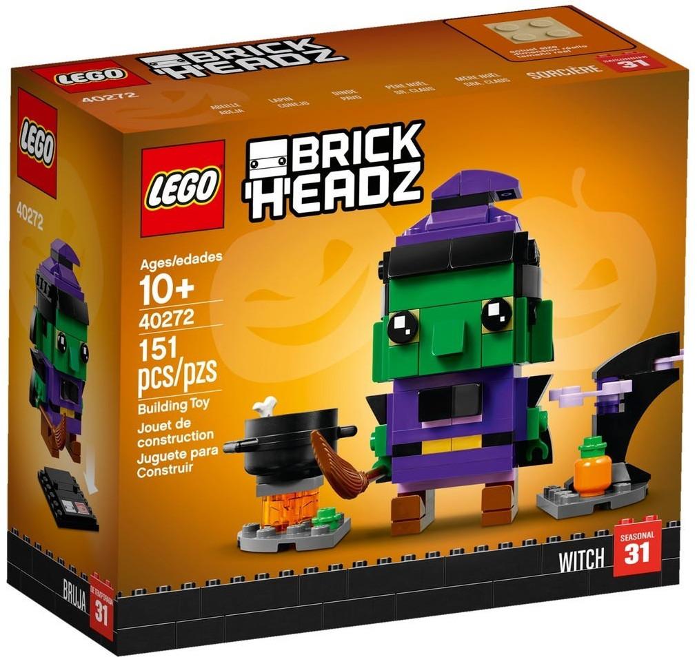 LEGO BrickHeadz - La sorcière d'Halloween (40272)