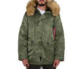 Alpha Industries Hommes Veste n2b Veste D/'hiver Doudoune ma1 Jacket S à 5xl