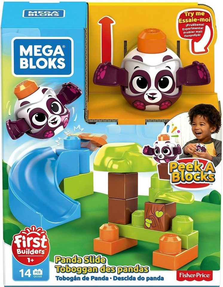 MEGA BLOKS Guck-Guck Panda-Rutsche (GKX68)