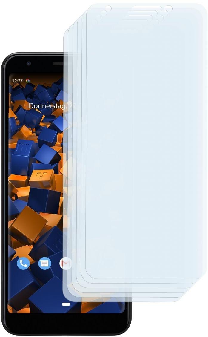 Mumbi Schutzfolie kompatibel mit Google Pixel 3a XL Folie klar (6x)