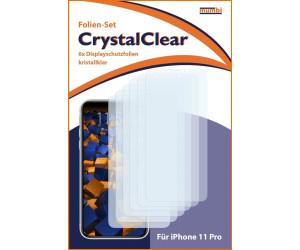 Mumbi Schutzfolie kompatibel mit iPhone 11 Pro Folie klar (6x)