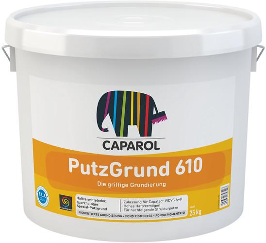 Caparol Putzgrund 610 weiß 8 kg