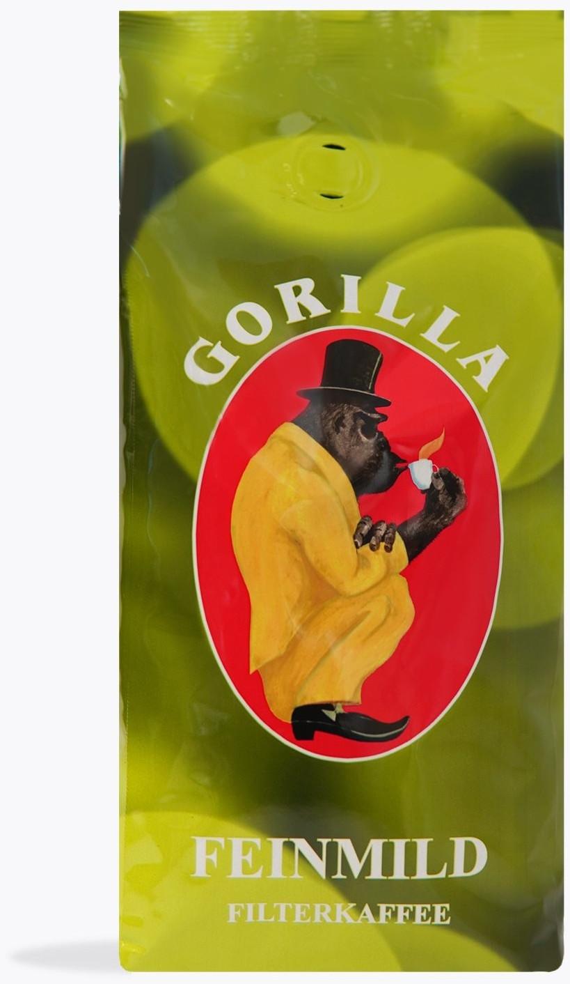 Joerges Gorilla feinmild gemahlen Filterkaffee (500g)