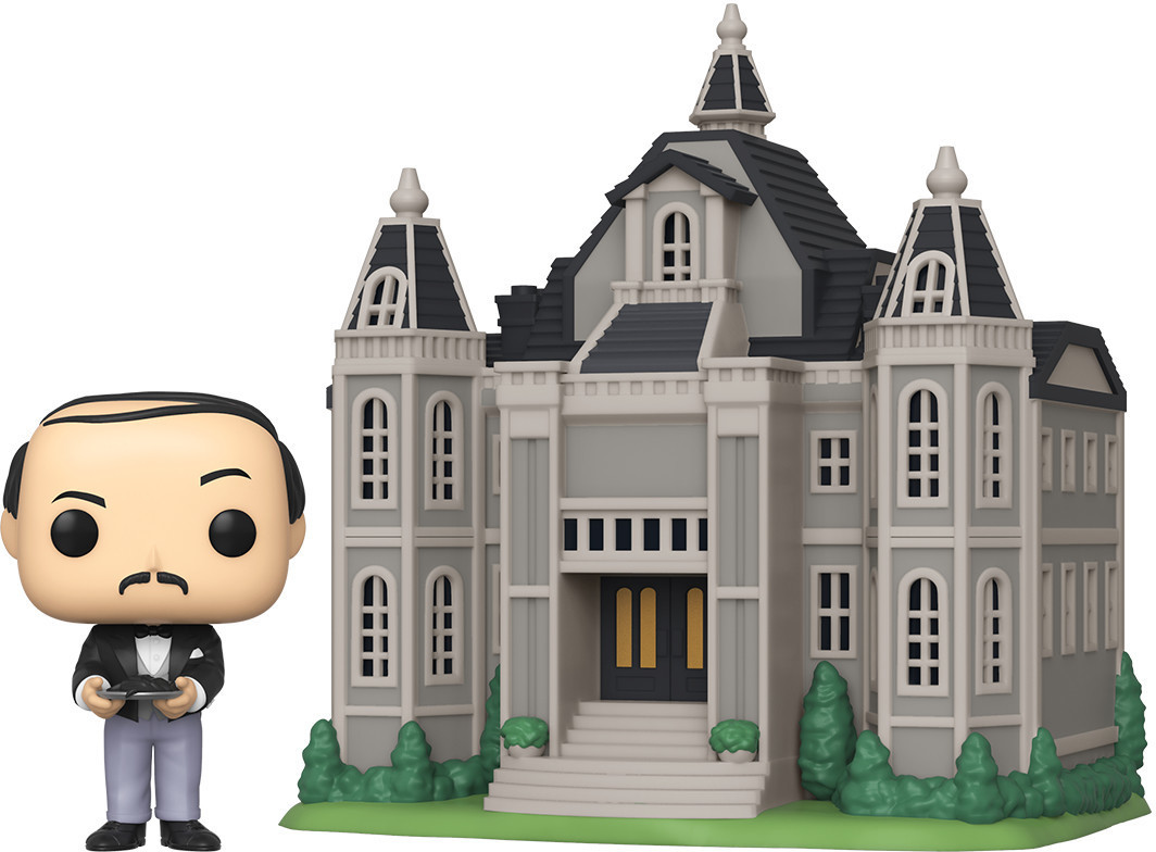Funko Pop! Alfred Pennyworth With Wayne Manor