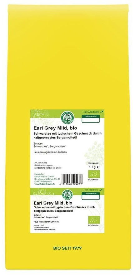 Lebensbaum Earl Grey Mild (1kg)