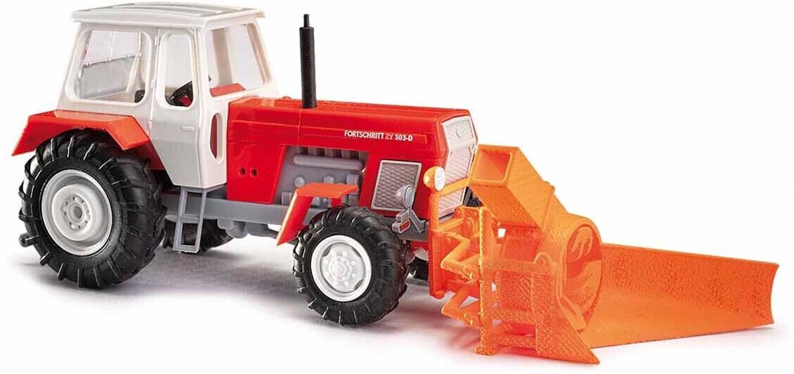 Busch Fortschritt ZT303 mit Schneefräse ASS 02 (42846)