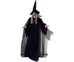 Europalms Halloween Figur Hexe animiert 175cm (8331440D)