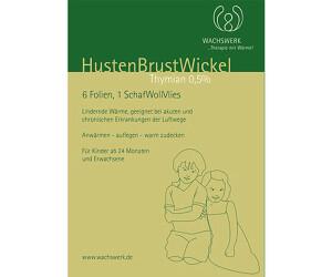 Husten Brustwickel Thymian (50 Stk.)