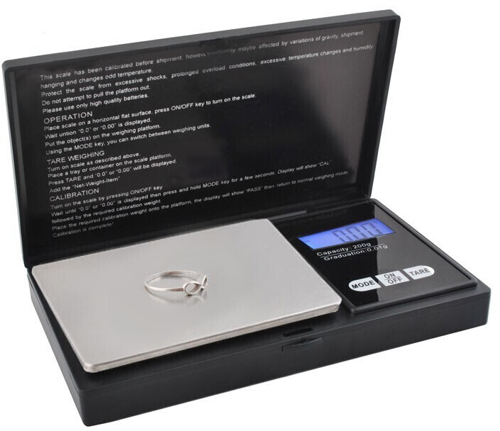 Image of Iso Trade Pocket scale 200G / 0.01G precision scale 2635