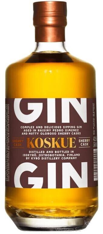 Kyrö Koskue Sherry Cask Gin 42,6% 0,5l