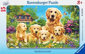 Ravensburger Süße Hunde (15 Teile)