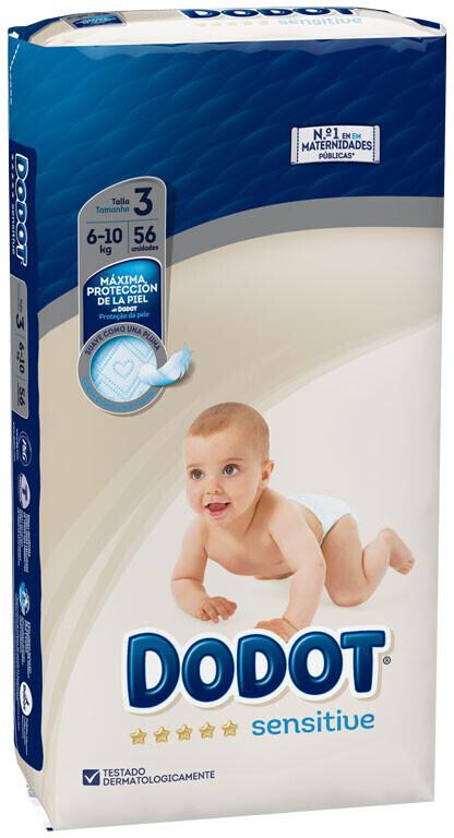 Dodot Sensitive 3 (6-10 kg) 56 pcs