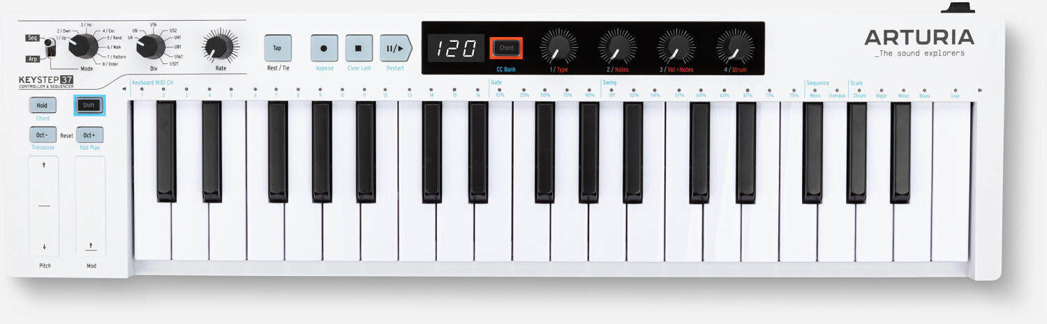 Image of Arturia Keystep 37